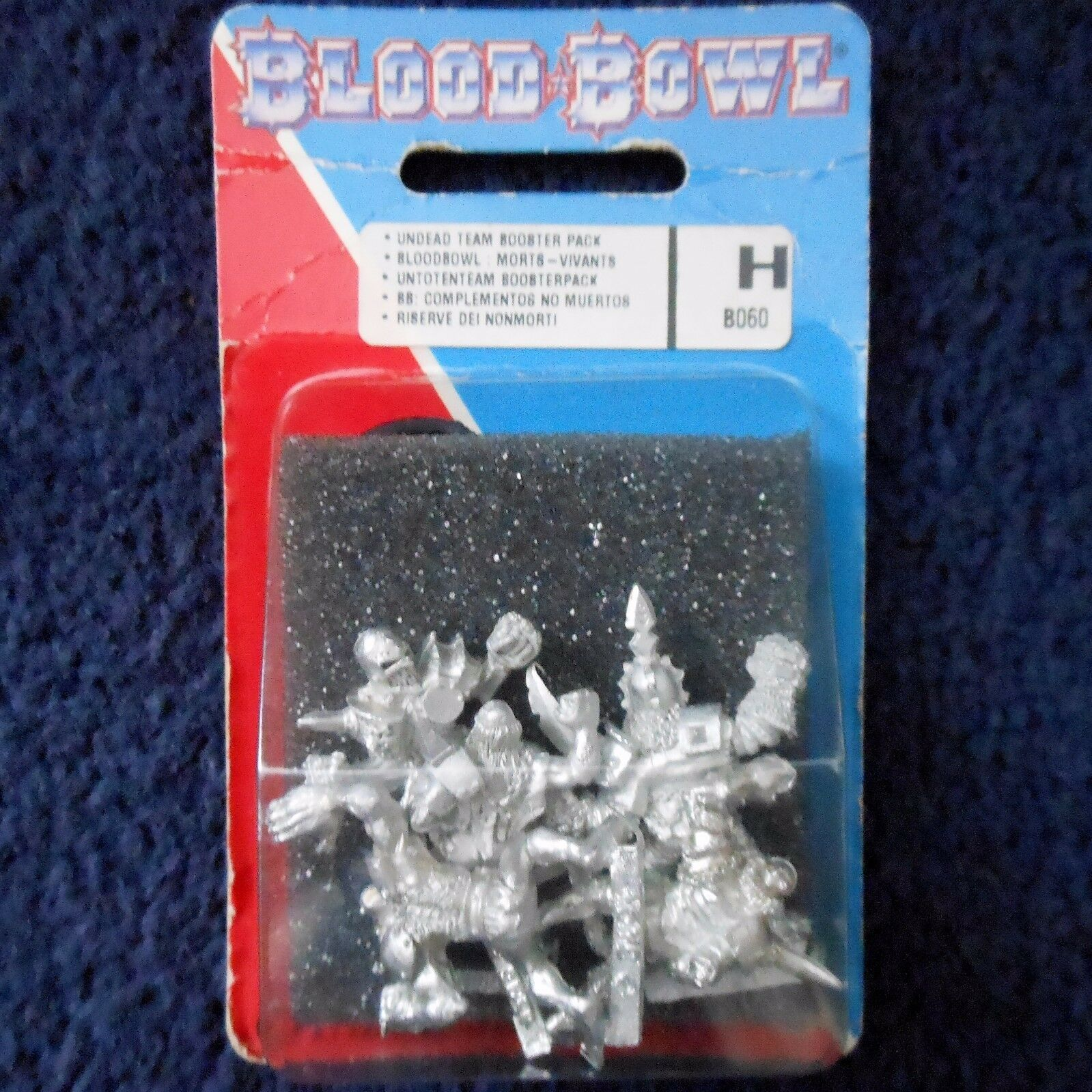 1994 Undead Bloodbowl 3rd Edition U1 Ghoul Mummy Wight Zombie Citadel Team MIB