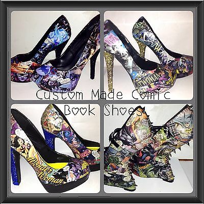 Custom Made Comic Book Shoes