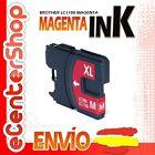 Cartucho Tinta Magenta / Rojo LC1100 NON-OEM Brother DCP-185C / DCP185C