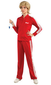image is loading glee sue track suit red tv coach funny