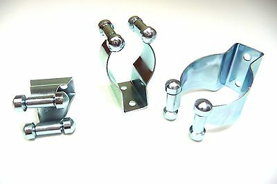 MADE IN ENGLAND PACK OF 10 TERRY TOOL CLIPS OPEN TYPE 19mm to 21mm