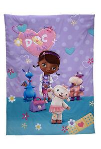 Disney Doc McStuffins Toddler Bed Comforter only - See ...