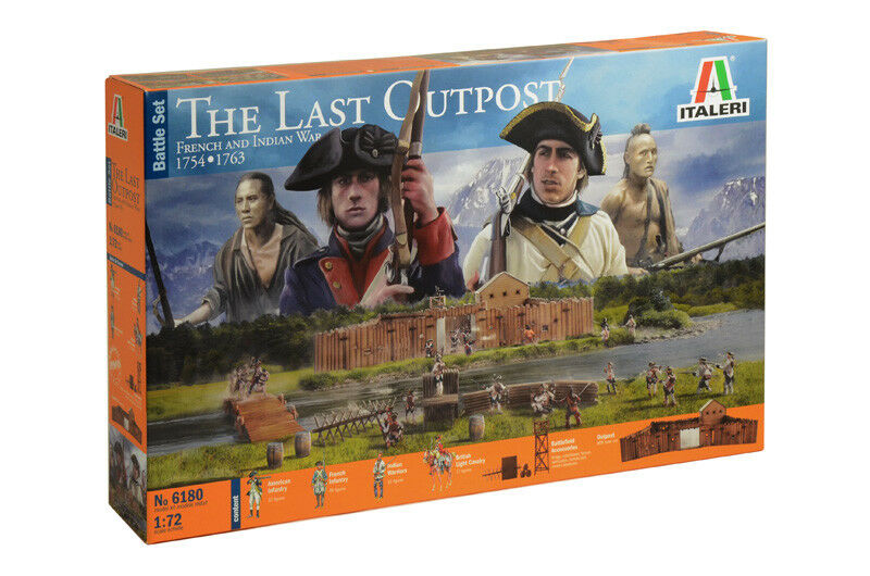 French And Indian War 1754 - 1763 Kit ITALERI 1 72 IT6180