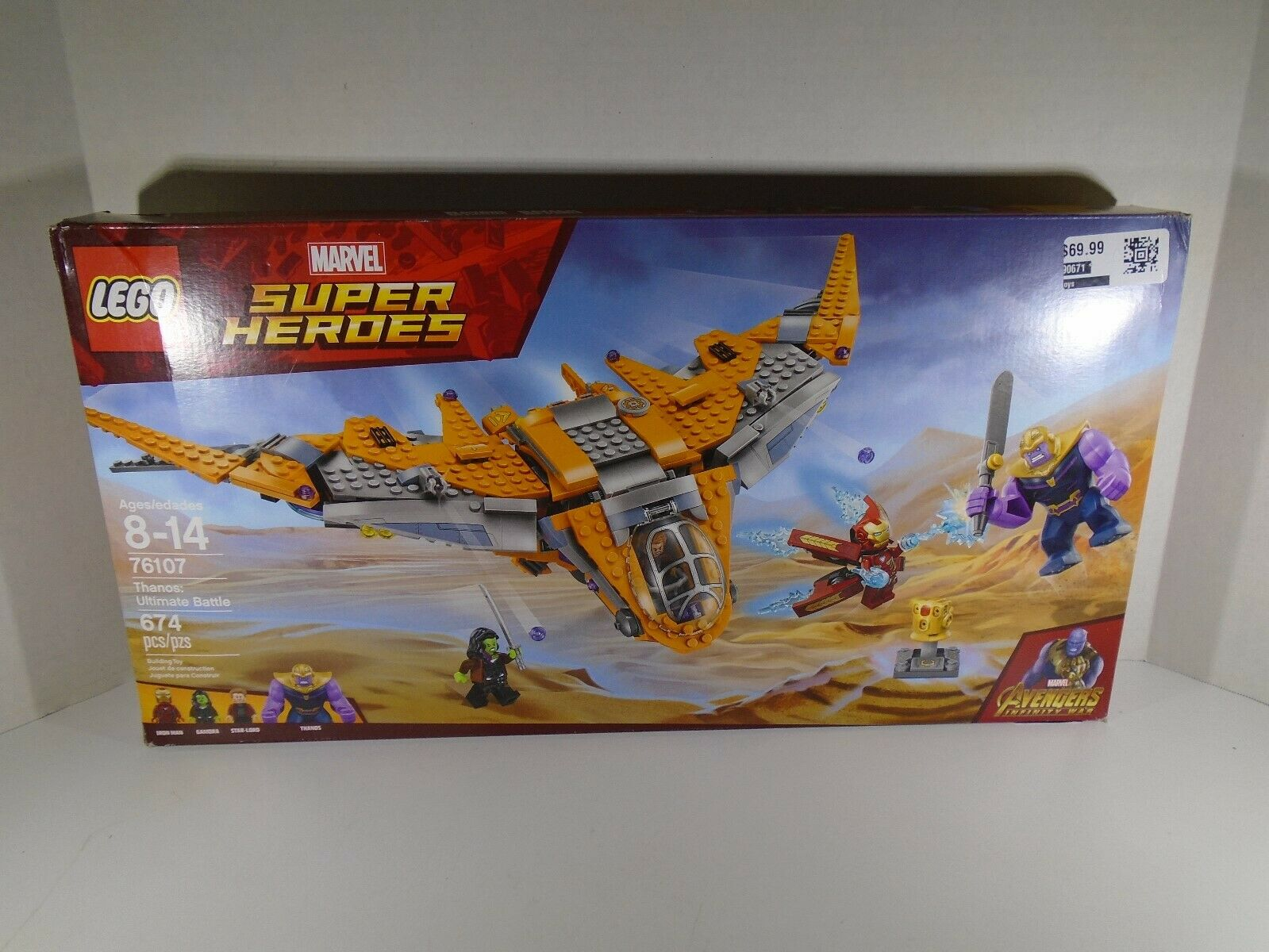 LEGO MARVEL SUPER HEROES--THANOS  ULTIMATE BATTLE SET (guarda)  76107  vendita calda online