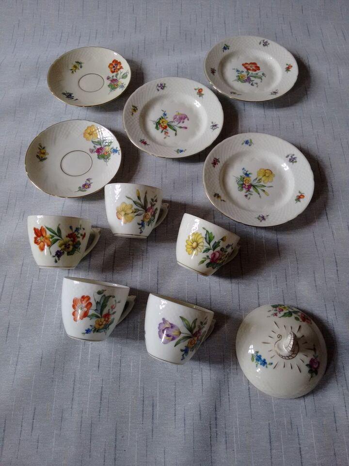 Porcelæn, Kaffestel