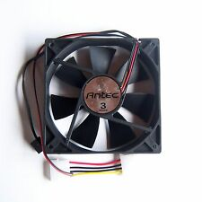 New 1 PCS Antec 3 Speed 120mm PC Case Fan 4 Pin Black Cooling Silent Quiet F25