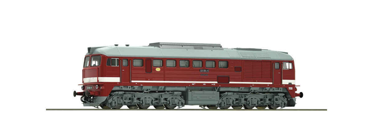 Roco 73806 h0 diesel locomotora br 120 Dr PE IV novedad 2019 OVP,