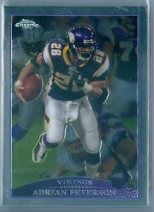Image is loading ADRIAN-PETERSON-2009-TOPPS-CHROME-PURPLE-JERSEY-VARIATION- 3c5dd2480