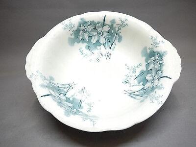 Prächtige Große Keramik-schale, England Um 1900... Erfrischend Und Wohltuend FüR Die Augen