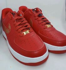 Nike Air Force 1 ID Chinese New Year Red Gold 919729 992 Sz 9  48d353db2