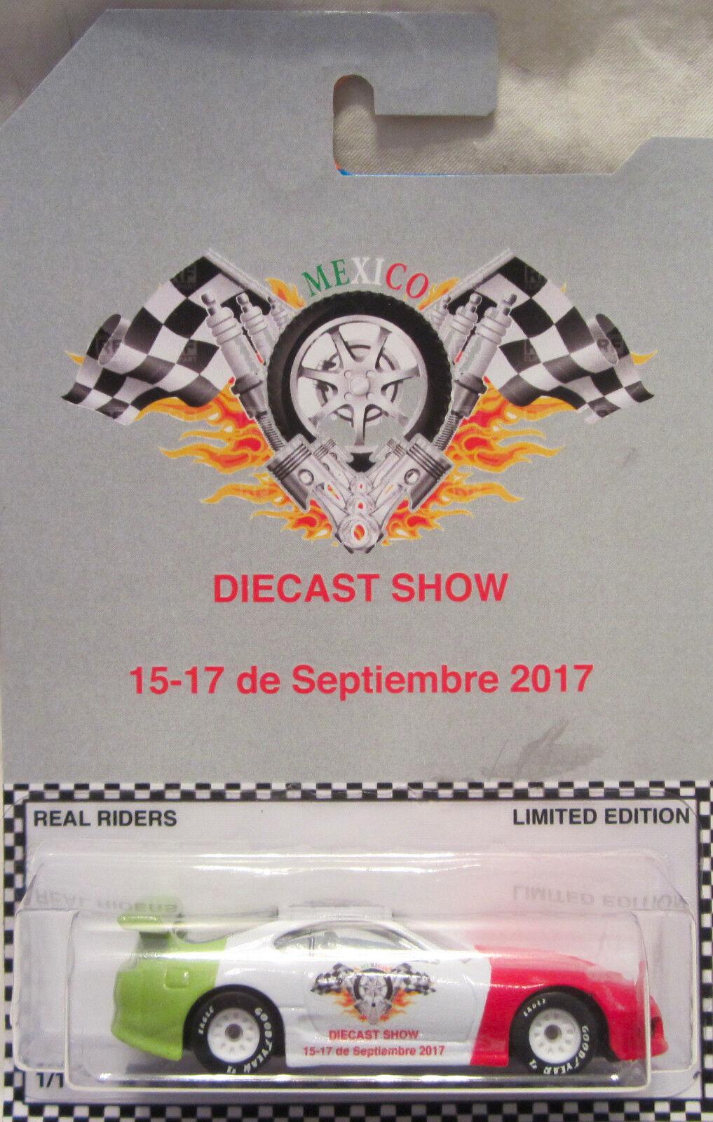 Hot Wheels Personnalisé Toyota Supra 2017 Mexique Moulage sous Pression Show