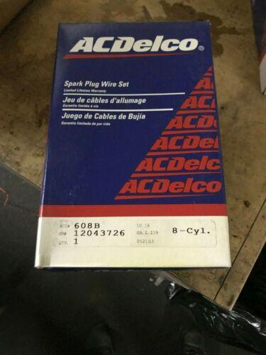 NEW GM DELCO OEM 608B SPARK PLUG WIRE SET 1975-83 CUTLASS 4.3L-5.0L