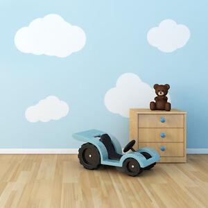 4-x-Baby-Boy-Girl-Nursery-Cloud-Pattern-Wall-Paper-Look-Stickers-Vinyl-Decal