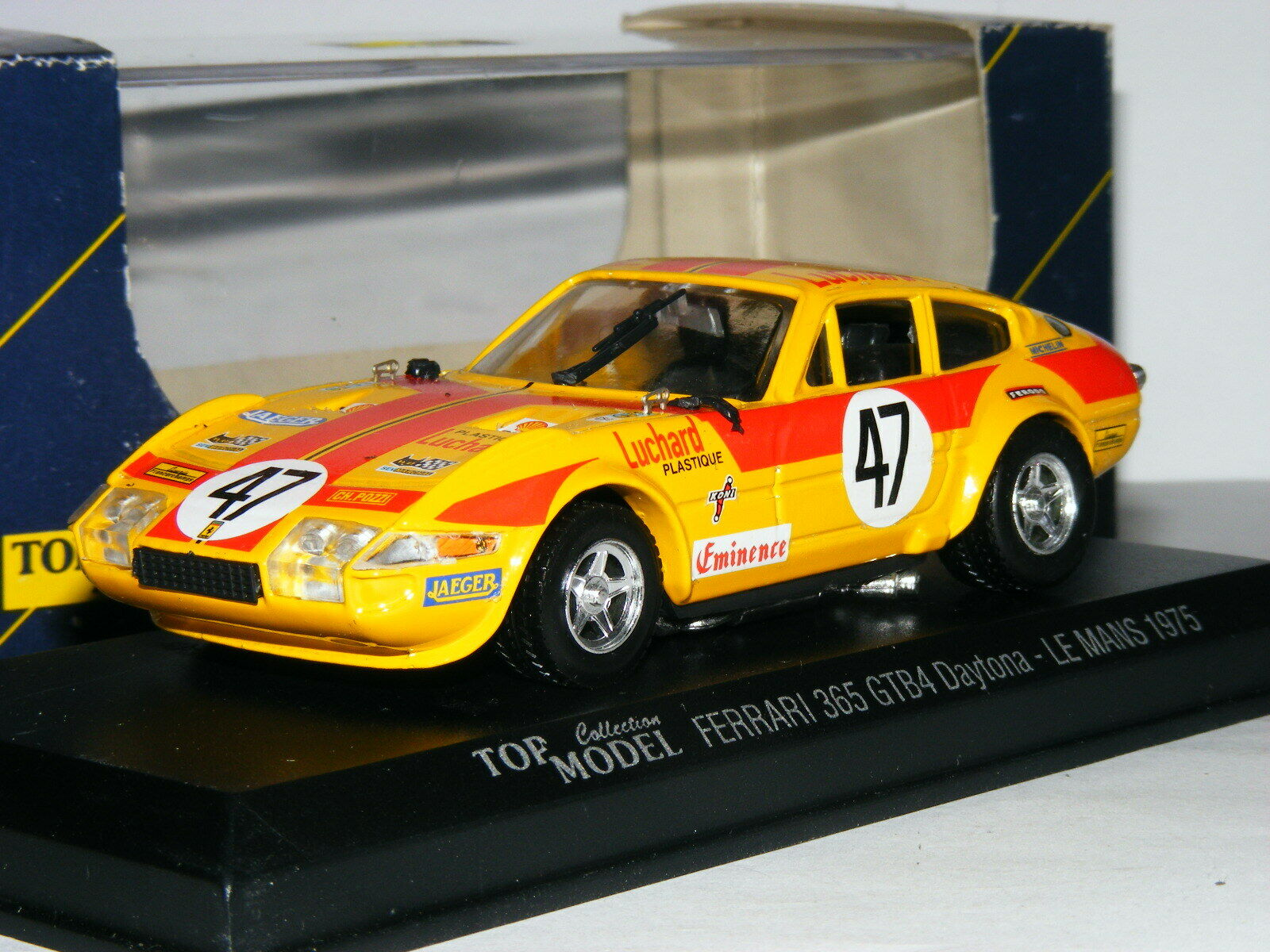 Top Model TMC010 Ferrari 365 Daytona 1975 Le Mans  43