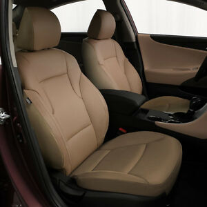 Katzkin Tan Leather Replacement Seat Covers Fits 2011 2014