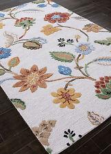 Jaipur Rugs 5 x 8 Garden Party White Persian Style Handmade Woolen Rugs & Carpet