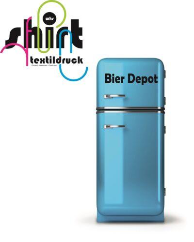 Bier Depot Kühlschrank Aufkleber Wandtattoo Sticker Küche Bar A 641