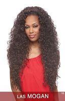 Las Mogan - Vanessa Synthetic Super Express Weave Half Wig Long Curly
