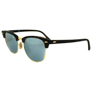 2869283a1a Image is loading Ray-Ban-Sunglasses-Clubmaster-3016-114530-Matt-Tortoise-