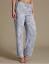 M/&s Collection Bleu Clair Mix Pure modal imprimé sans manches Pyjamas