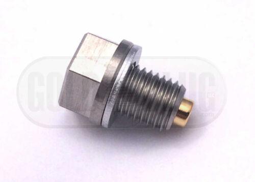 Honda Rebel CMX250 CMX450 Magnetic Drain Plug Engine Protection Gold Plug