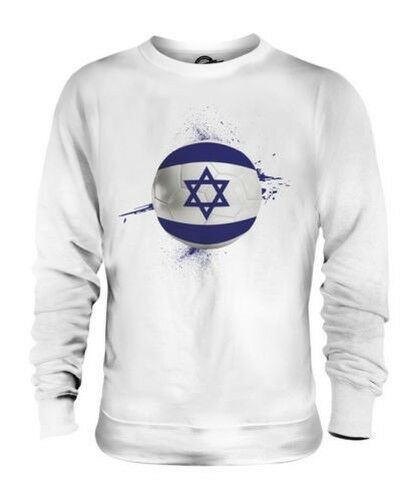 ISRAEL FOOTBALL UNISEX SWEATER TOP GIFT WORLD CUP SPORT