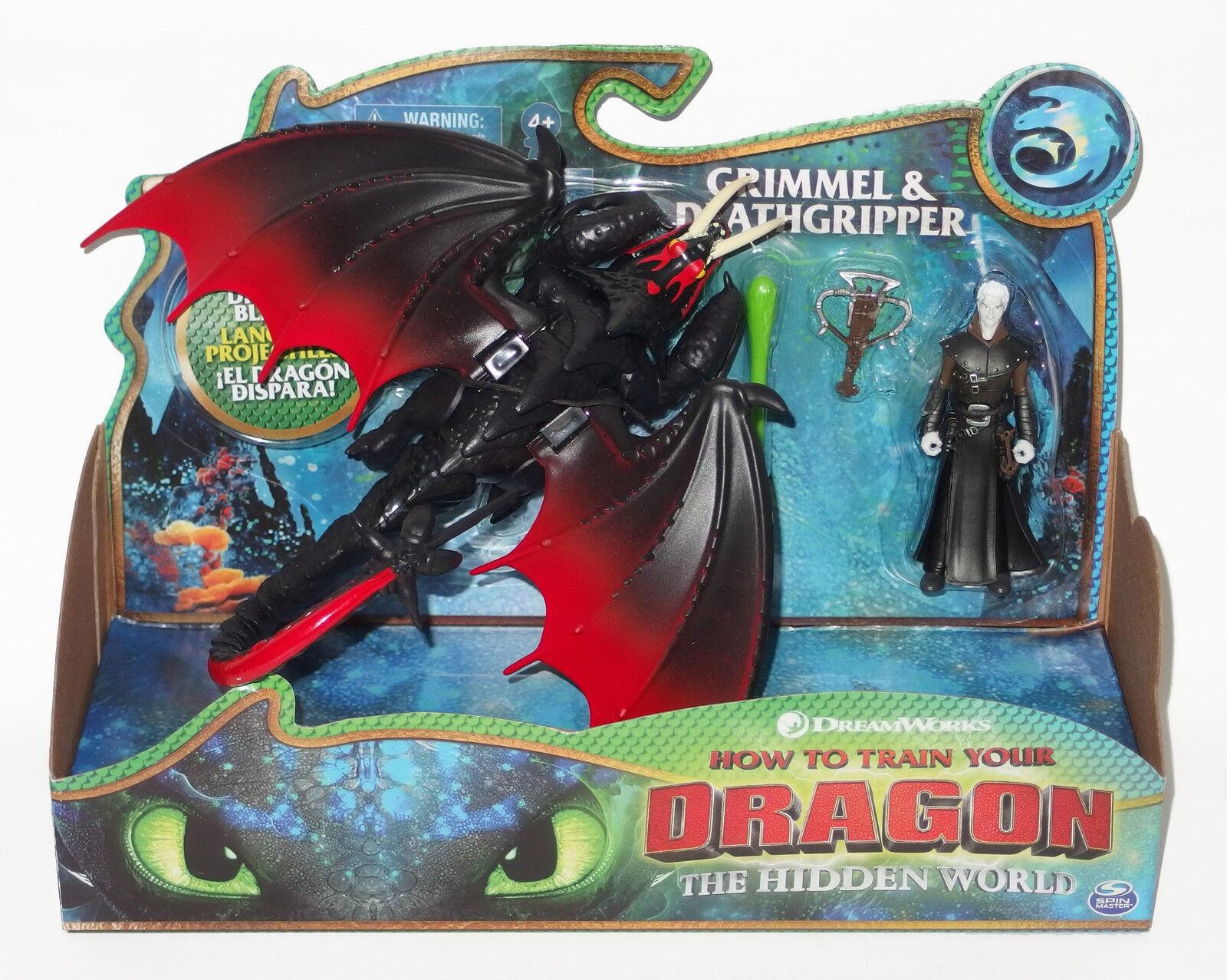Dragons 3 Hidden World Die Die World geheime Welt Grimmel Stormfly Deathgripper Hookfang 801aaa