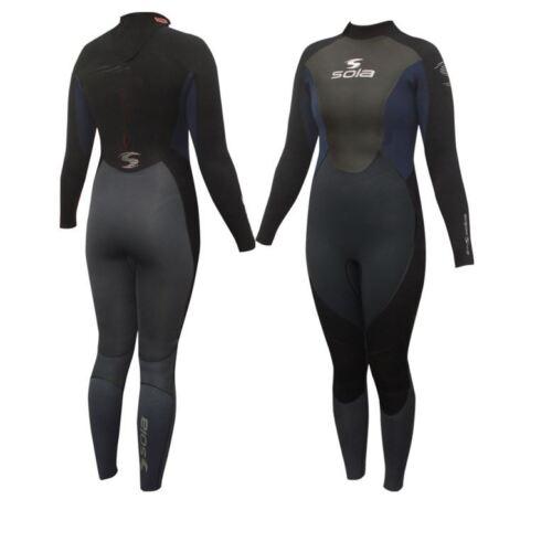 SOLA ECLIPSE GBS 5//4//3mm Neoprene Ladies Winter Wetsuit surfing sailing Diving