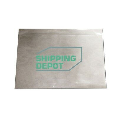 1 2000 7x10 Clear Packing List Envelopes Self Adhesive 2