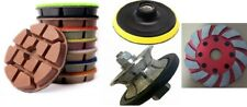 12 Full Bullnose Router Bit 8 Thick Polishing Pad Grinding Cup Stone Concrete