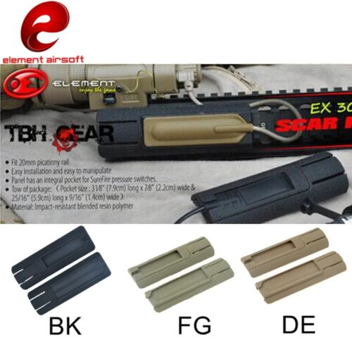 Tactical Rail Cover For Flashlight Remote Switch Fit 20mm Rail GBB//AEG