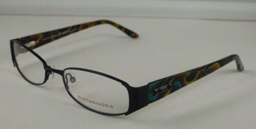 New Authentic BCBG MAXAZRIA RXable Eyeglasses Frames Dominique Black 53mm