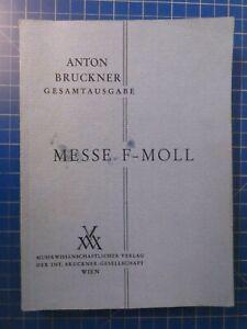 Anton-Bruckner-Gesamtausgabe-Messe-F-Moll-Bruckner-Gesellschaft-Wien-H10281