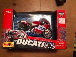 1-18-Maisto-2003-Ducati-Corse-999-Neil-Hodgson-NIB