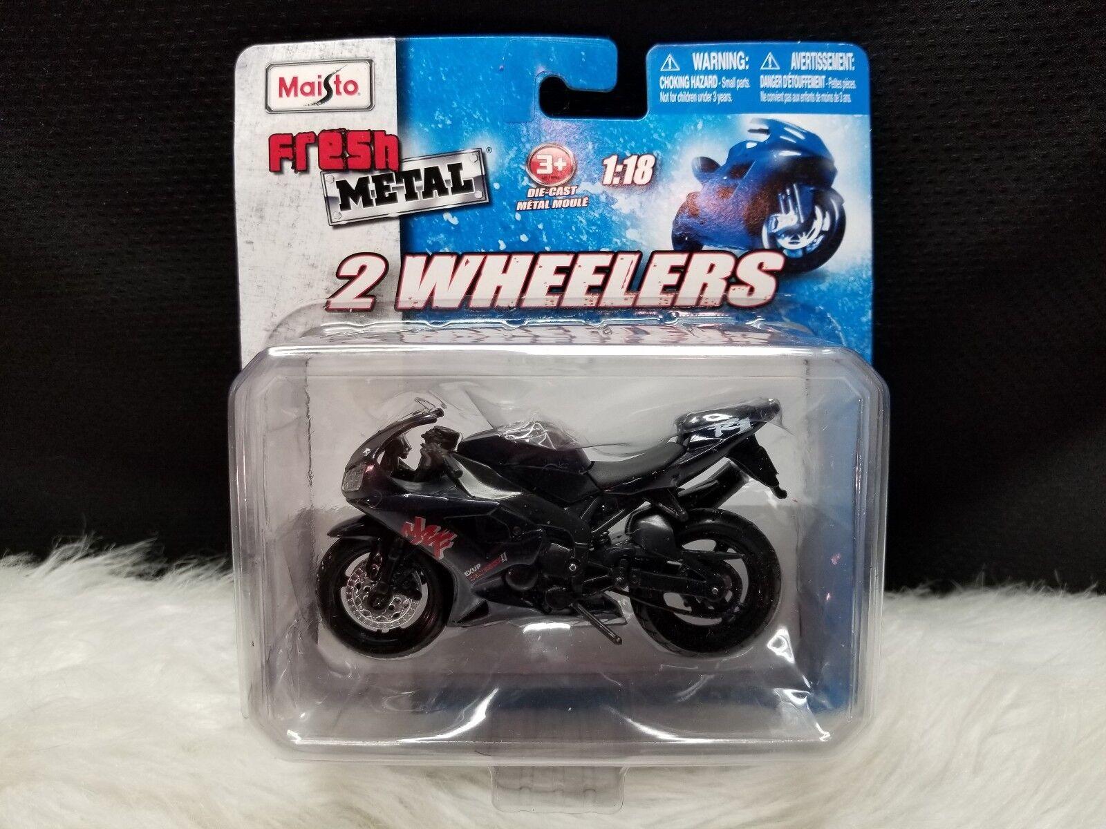 Maisto Fresh Metal Metal Metal 2 Wheelers Motorcycle ~ Aprilia 1:18 Scale Yamaha Exup 5df1cf