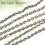 10m-lot-Bronze-Color-Necklace-Chains-Brass-Bulk-for-DIY-Jewelry-Making-Materials thumbnail 11