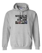 New Kids On The Block NKOTB Tour Hooded Sweater Sweatshirt Pullover Hoodie