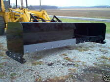 Linville 10 Low Profile Snow Pusher Skid Steer Bobcat Plow American Made