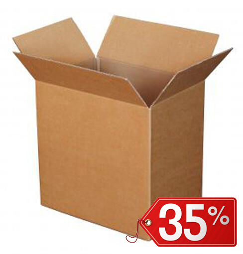40 pieces BOXES CARTON TWO LAYER ULTRA RESISTANT 37x37x25cm SHIPPING