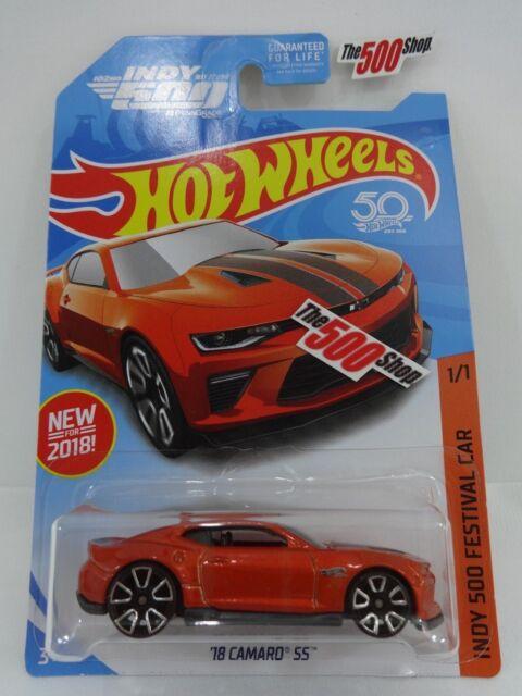 Hot Wheels 50th 2018 Indy 500 Festival Car 1:64 DieCast Chevrolet Camaro SS