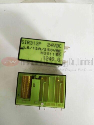 SIR312P 24VDC Safety Relay 12A 24VDC 250VAC 10 Pins x 1pc
