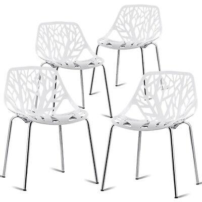 Groovy Set Of 4 Dining Chair Birch Sapling Accent Armless Side Creativecarmelina Interior Chair Design Creativecarmelinacom