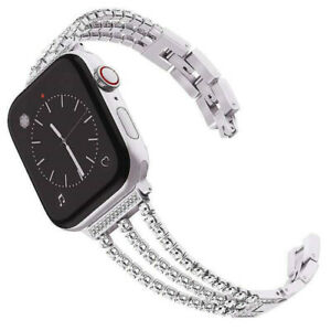 Stainless Steel Band Strap Iwatch Bracelet Diamond For Apple Watch Series 4 3 2 Ebay
