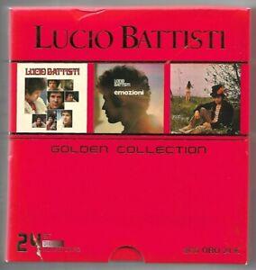 BOX-3-CD-LUCIO-BATTISTI-Golden-collection-Bmg-Ricordi-Dischi-d-039-Oro-01-24-bit-M