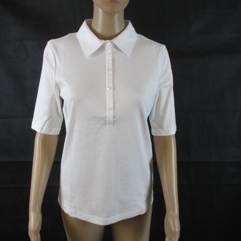 Efixelle Polo Shirt , Farbe white, kurzarm, Größe 36