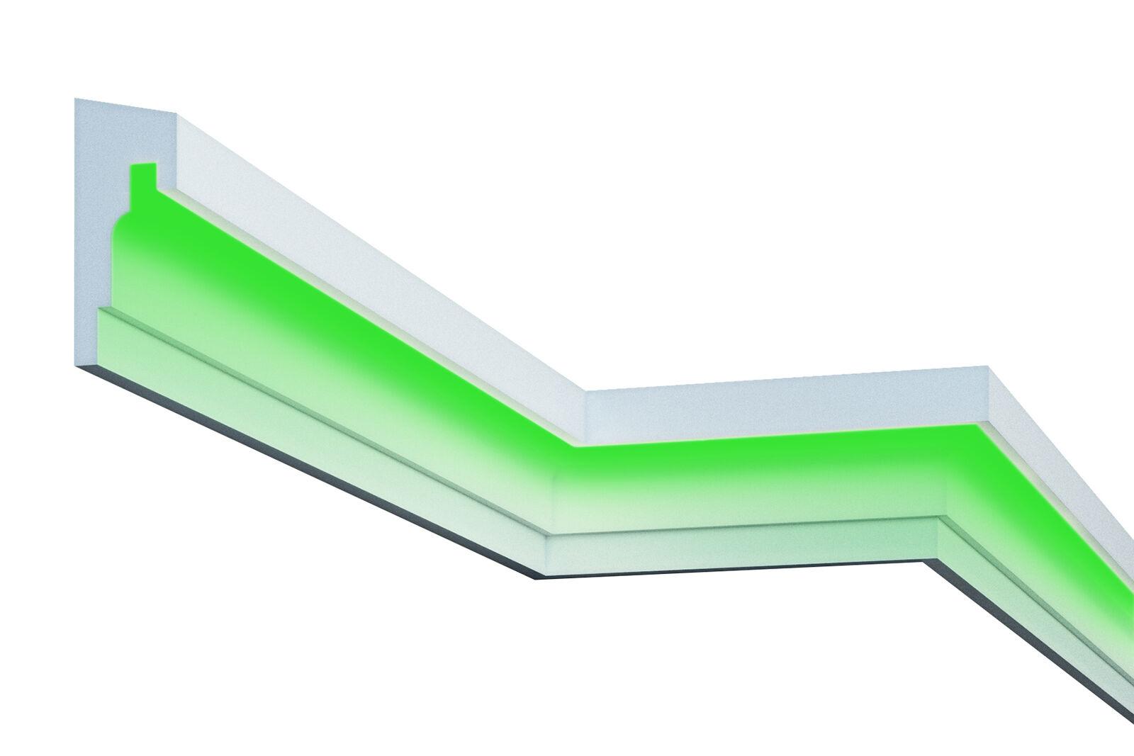10 Metros LED Molduras para Fachada Iluminación Indirecta a prueba de golpes