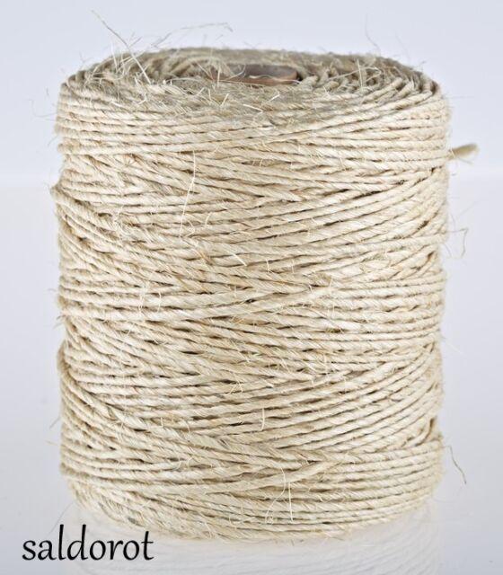 Cotton Twine String Cord ❁ Eco Jute 5//10 Metres❁ Soft Natural Organic Sisal