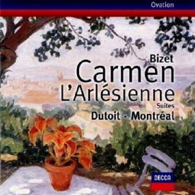MASELLA/LANGEVIN/DUTOIT/OSM - CARMEN-SUITE/L'ARLESIENNE-SUITE  CD NEU