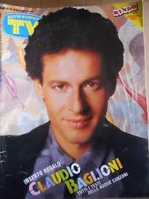TV Sorrisi e Canzoni n°49 1990 Speciale Claudio Baglioni Trailer Sirenetta [D44]