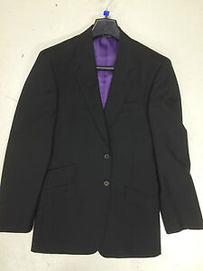 Blazer With Suit 'byard' Wool Lining 38 Purple Chest Black Smith Jacket Paul ngZxqC0wx
